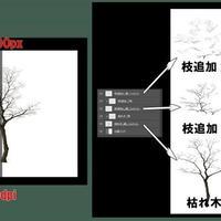 素材_枯れ木01