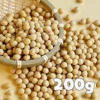 北海道産 中粒大豆200g