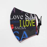 I love salsaマスク