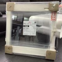 YKK AP エコ内窓 内開き窓(内観:ハンドル右) W628×H630 出品番号:190009