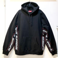 Supreme Text Rib Hooded Sweatshirt