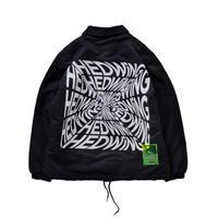 HEDWiNG Blackhole Logo Coach Jacket BLACK