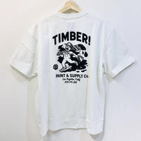ELEMENT TIMBER SPILT PAINT TEE WHITE
