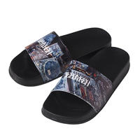 Zephyren SHOWER SANDALS - Dècadence - BLACK