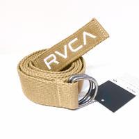 RVCA WEB BELT BEIGE