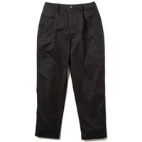 Deviluse Tuck Wide Pants Black