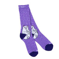 RIPNDIP Lord Nermal Socks Purple Speckle