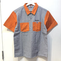 Supreme × Ben Davis Half Zip Work Shirt