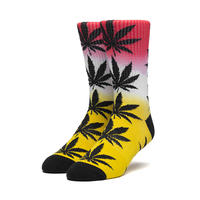 HUF PLANTLIFE GRADIENT DYE SOCK AURORA YELLOW