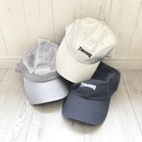 THRASHER SATIN CURVE CAP