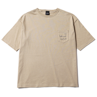 Deviluse Liner Heart T-shirts Sand