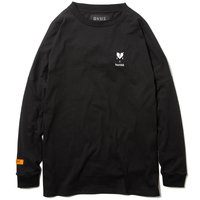 Deviluse Heartahe L/S T-Shirts BLACK