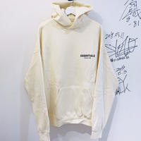 FOG ESSENTIALS Logo print cotton-blend hoody CREAM