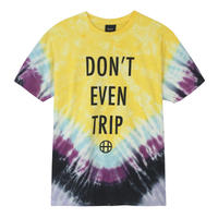 HUF DON'T EVEN TRIP S/S TEE YELLOW