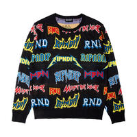 RIPNDIP Rock N Nerm Sweater BLACK
