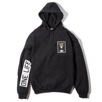 Deviluse Love Life Pullover Hooded Black