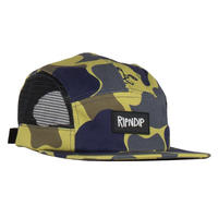 RIPNDIP Nerm Camo Side Mesh 5 Panel Plum Camo