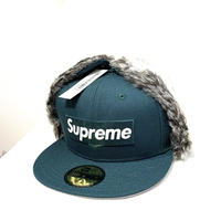 Supreme Earflap New Era Dark Green