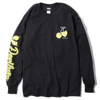 Deviluse Cherry L/S T-Shirts BLACK
