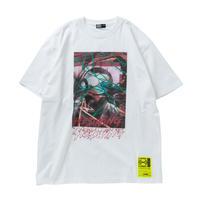 HEDWiNG Creepy-ART Big Shilhouette T-shirt White