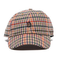 Deviluse Check D Cap KHAKI x RED