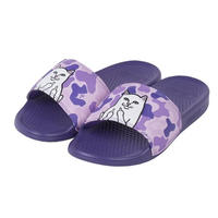 RIPNDIP LORD NERMAL SLIDES PURPLE CAMO