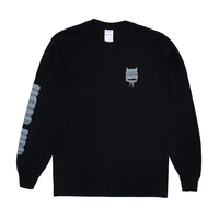 RIPNDIP Bionic Nerm Long Sleeve Black