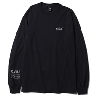 Deviluse Small Logo L/S T-shirts Black