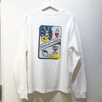 RVCA  SMITH STREET LS TEE WHITE
