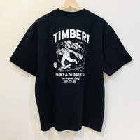 ELEMENT TIMBER SPILT PAINT TEE BLACK