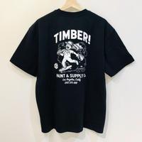 ELEMENT TIMBER SPILT PAINT TEE BLACK