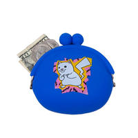 Catch Em All Rubber Coin Pouch BLUE