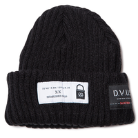 Deviluse Patch Beanie Black