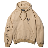 Deviluse Heataches Pullover Hooded Sand
