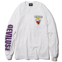 Deviluse Heart Catcher L/S T-Shirts WHITE