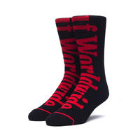 HUF COUNTRY CREW SOCKS BLACK