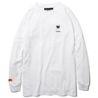 Deviluse Heartahe L/S T-Shirts WHITE