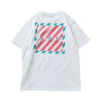 HEDWiNG Stripe Box T-shirt White