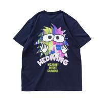 "HEDWiNG Pocket ""MOJYAPON"" T-shirt Navy"
