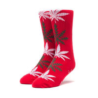 HUF PLANTLIFE GLOWFLAKE SOCKS RED
