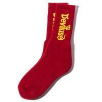 Deviluse Logo Socks MAROON