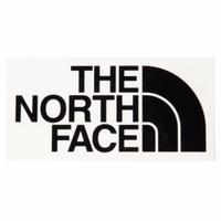THE NORTH FACE CUTTING STICKER BLACK