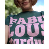 FABULOUS stardust T-shirts(green baby pink)