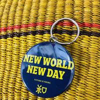 New world New day Key holder(navy)
