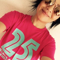 25years around Tシャツ  /    PINK