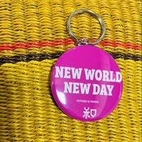 New world New day Key holder ( pink)