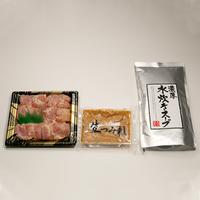 白濁スープの水炊きセットA(2〜3人用)
