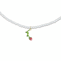 SUSAN ALEXANDRA  Pearly ROSE Necklace