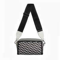 PIERRE HARDY CAMERA BAG  BLACK-WHITE-BLACK