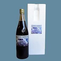 完熟ブルーベリー果汁(三春産)720ml(発砲カートン入り)